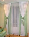 Как украсить шторы в зале своими руками
